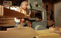 Richard in the workshop